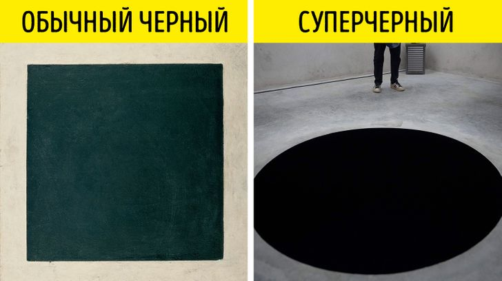 Теперь суперчерным цветом в мире может пользоваться только один человек. И вы его знаете