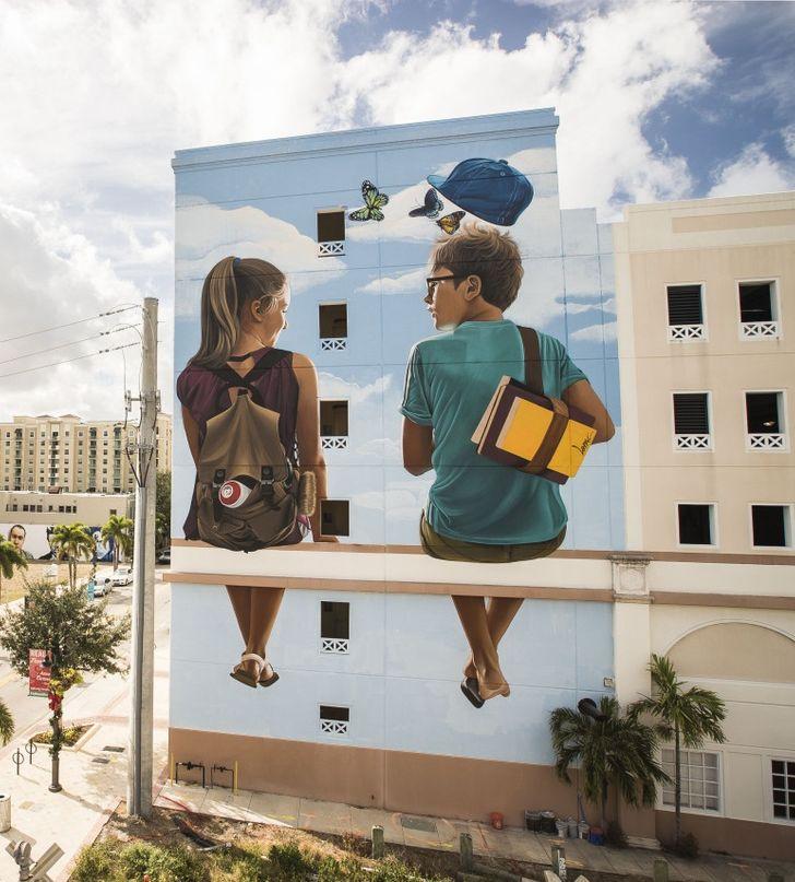 20+ примеров крутого стрит-арта, которые западают в душу с первого взгляда