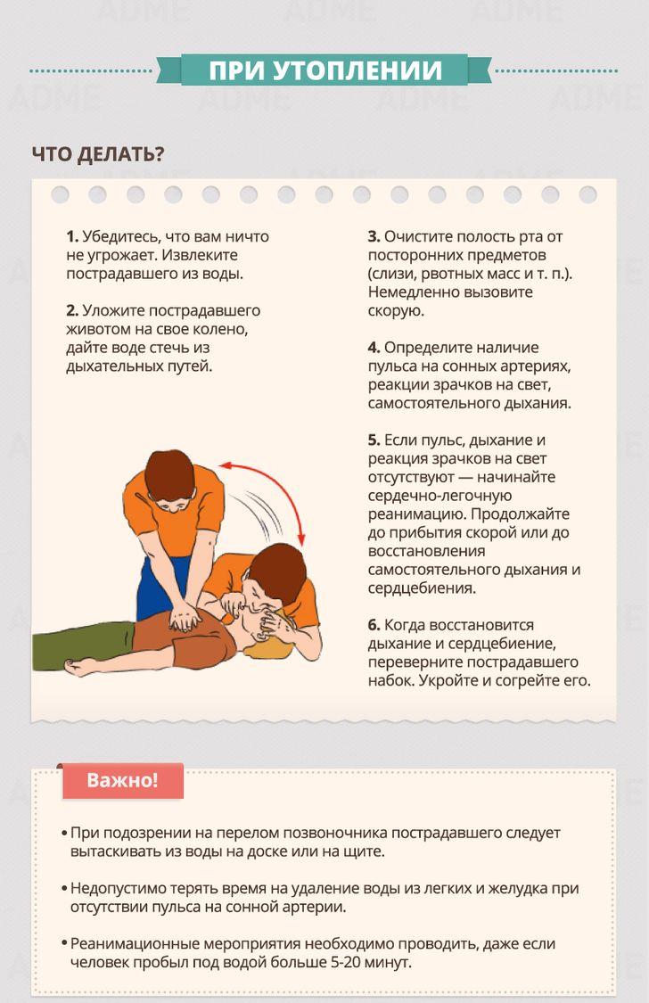 Гид пооказанию первой помощи