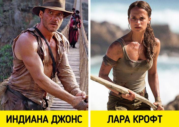 10 типов персонажей, которых сыграли мужчины и женщины.