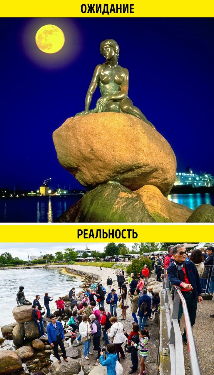 13 мест, куда многие туристы не хотят ехать во второй раз