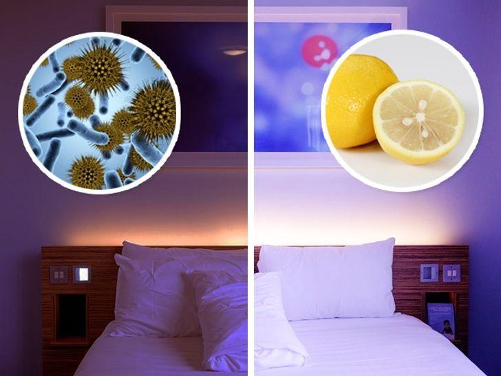 Что произойдет, если положить кусочек лимона рядом скроватью