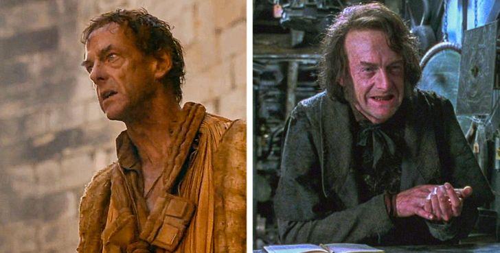 12 актеров «Игры престолов», которые снимались в «Гарри Поттере», а вы и не заметили
