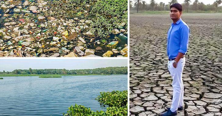 26-летний мужчина возрождает засохшие озера вИндии. Миру нужно больше таких героев