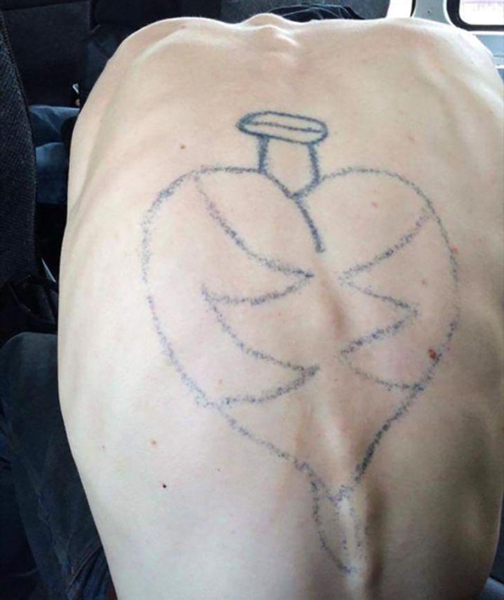 15человек, которые горько пожалели, что сделали тату
