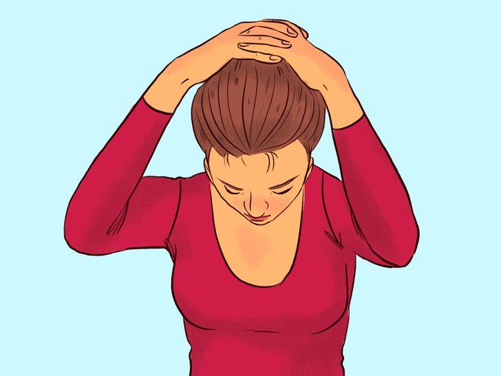 7 упражнений для шеи, которые помогут сэкономить на массажисте