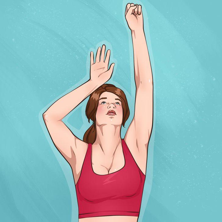 10простых упражнений для красивых рук иподтянутой груди