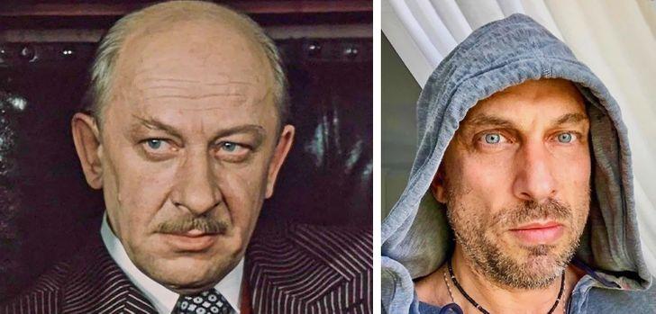Как выглядят культовые актеры прошлого века и современные знаменитости в одном возрасте