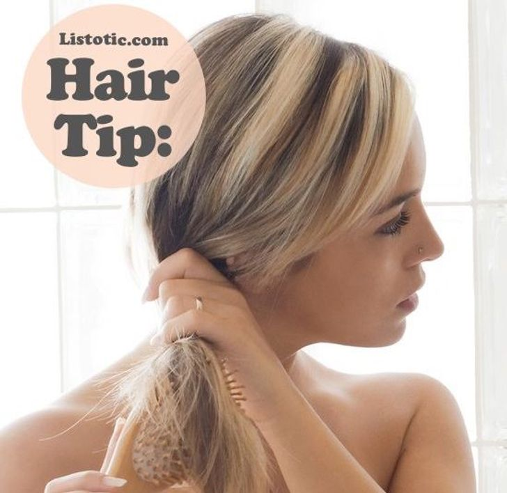 15лучших хитростей для волос, окоторых все должны знать