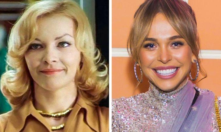 Посмотрите, как выглядели советские и современные звезды в одном и том же возрасте