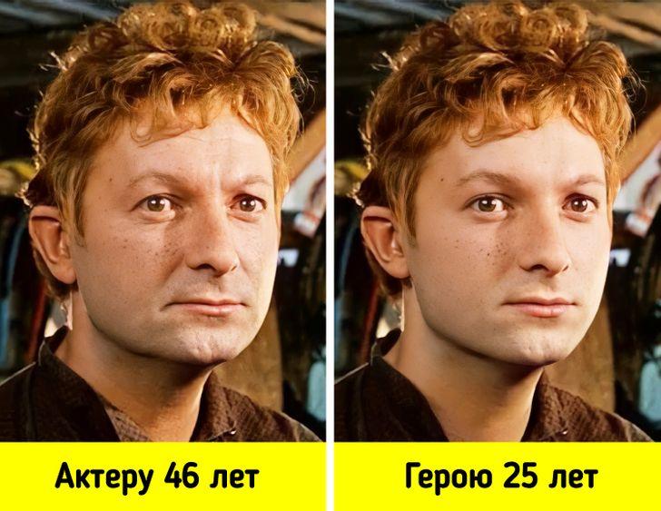 15+ наших актеров, которые должны были выглядеть на экране иначе, если бы соответствовали реальному возрасту своих героев