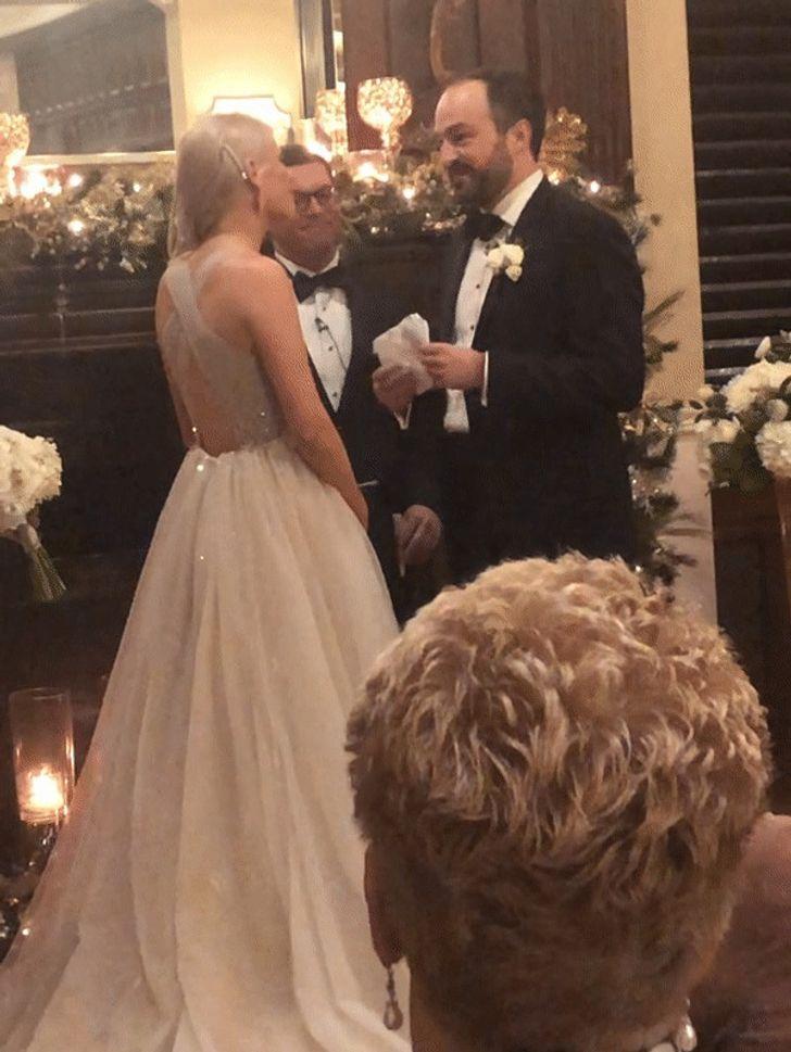 У меня была ужасная свадебная прическа
