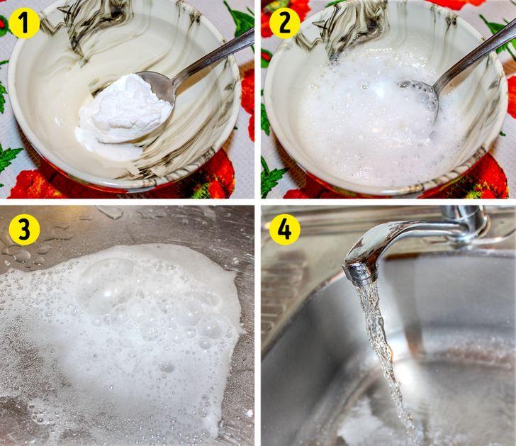 7способов избавиться отзасоров вванной инакухне без помощи сантехника