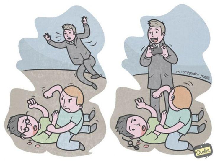 16саркастичных иллюстраций, накоторые стоит взглянуть дважды
