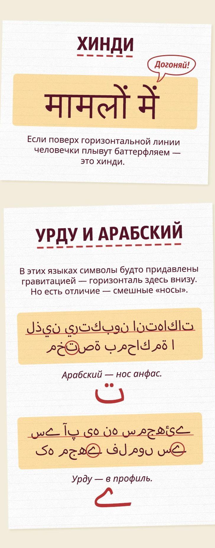 Как заодну минуту научиться отличать восточные языки друг отдруга