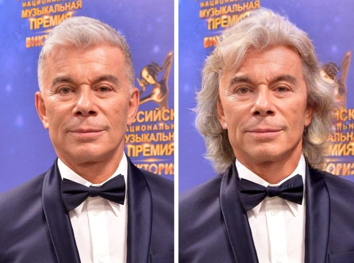 Как бы выглядели 20+ наших знаменитых мужчин, если бы они решили отрастить длинные волосы
